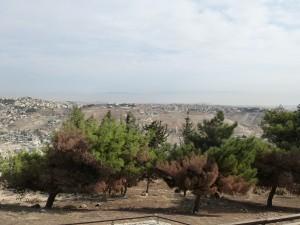 Blick vom Osten auf die Jerusalemer Altstadt