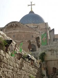 """das """"christliche Heiligtum"""": die Grabeskirche"""