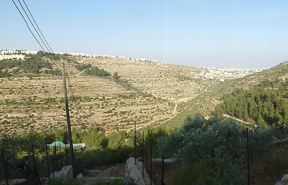 Cremisantal bei Beit Jala