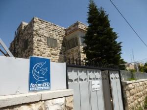 Geschäftsstelle des Forums Ziviler Friedensdienste in Jerusalem