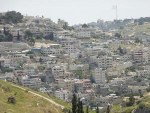 Silwan nahe der Altstadt
