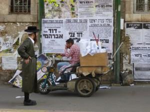 """Tageszeitung"" in Mea Shearim"