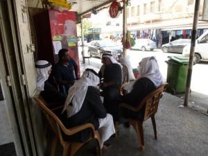 Straßenleben in Jericho