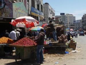 Ramallah eine geschäftige Stadt