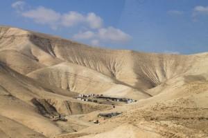 durch die judäische Wüste