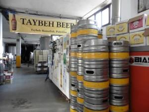 Es gibt leckeres Bier in Palästina