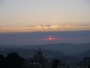 Morgensonne über Bethlehem