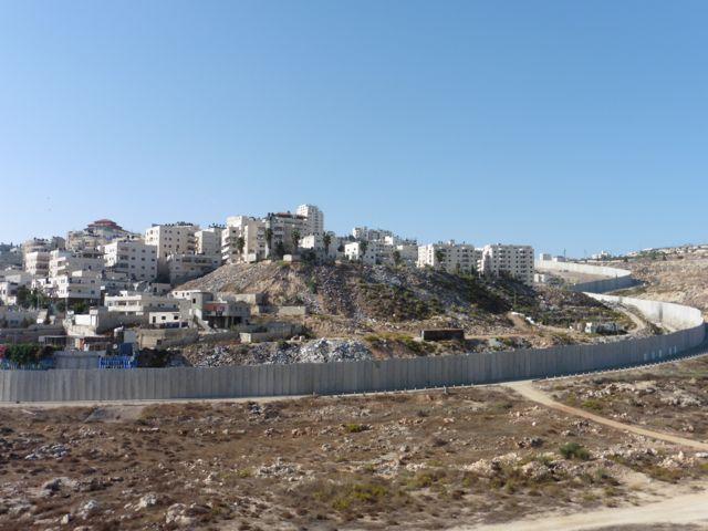 """Ostjerusalem:""""Schutzmauer trennt Palästinenser von Palästinensern"""