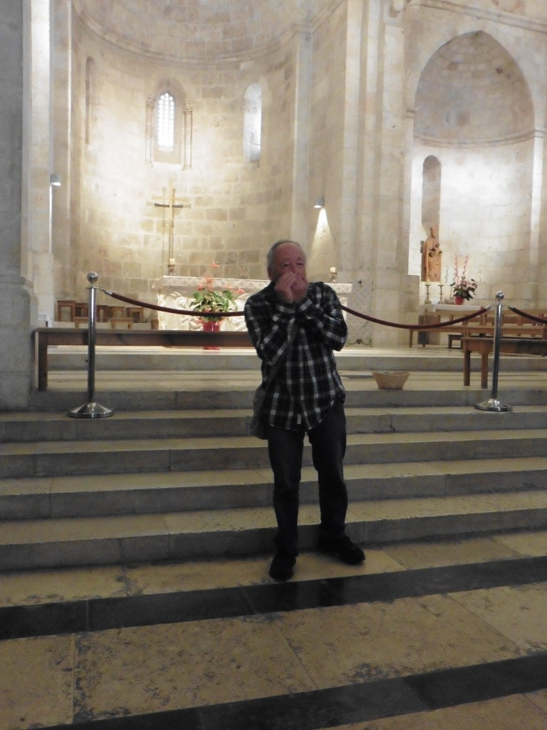 Reuven Moskovitz in der St.-Anna-Kirche