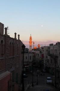 Abendstimmung in Bethlehem