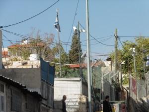 und mitten drin jüdische Siedler