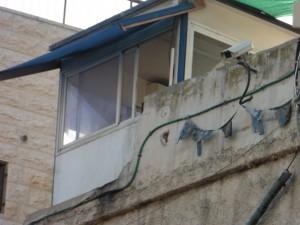 Bewachung mitten im Wohngebiet