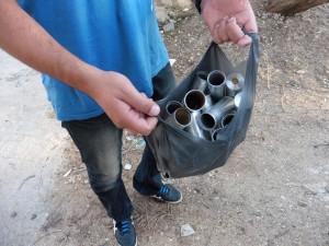 """""""Wertstoffsammlung"""" in Palästina"""