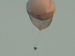 """""""Alles im Blick"""" Beobachtungsballon über Silwan"""