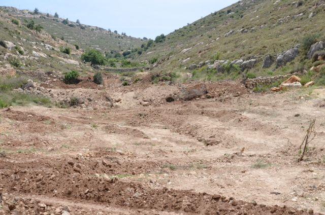 nach der Zerstörung  am 19. Mai 2014