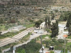 Battir liegt an der alten Bahnstrecke Tel Aviv-Jerusalem