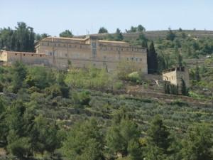 Das Cremisan-Kloster auf der gegenüberliegenden Talseite