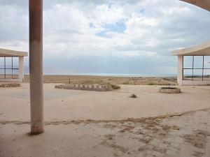 nach 70 Jahren, der Strand ist Kilometerweit entfernt