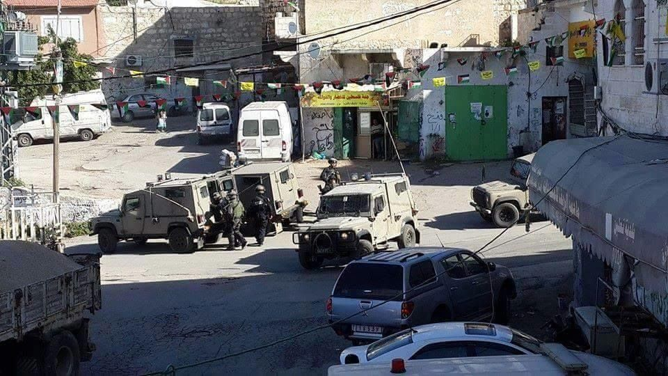 Militäreinsatz im Februar foto: Ni`lin Volkskomitee