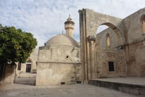 erst Kreuzfahrerkirche - dann Moschee