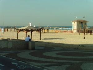 Tel Aviv: Meeresblick am Morgen