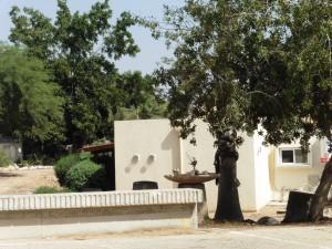 Jedes Haus im Kibbuz hat einen Bunkeranbau