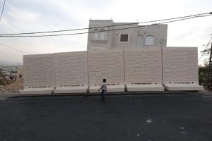 Mauerbau in Ostjerusalem