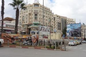im Zentrum von Ramallah