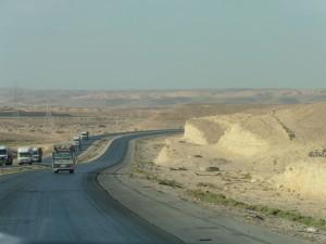 Fahrt nach Petra