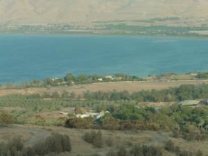 der See Genezareth: das galiläische Meer