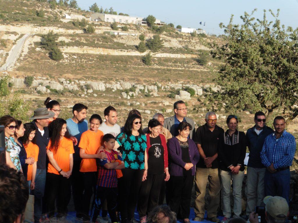 Familie Nassar aus Bethlehem ihr gehört der Weinberg seit nun mehr 100 Jahren