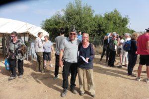 die wichtigsten Organisatoren des Festes: Meta&Daoud