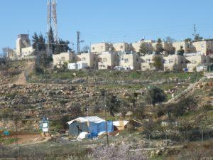mehr als eine halbe Millionen Juden leben in Ostjerusalem und dem Westjordanland