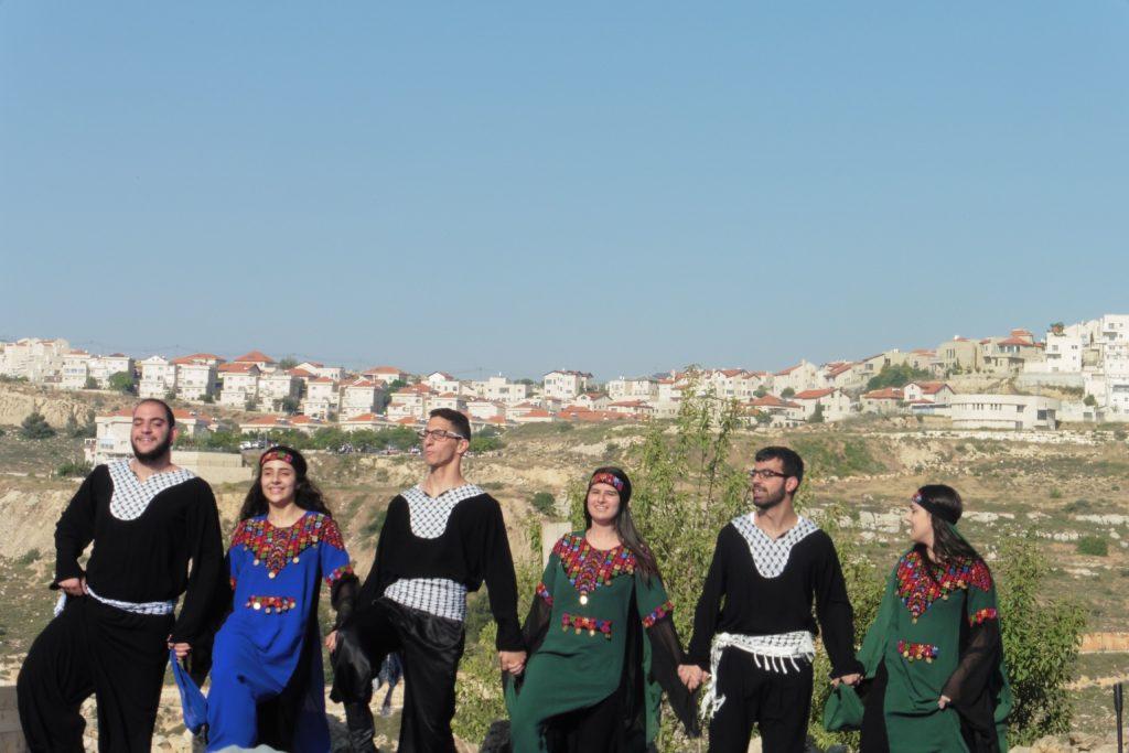Tanzgruppe aus Beit Sahur