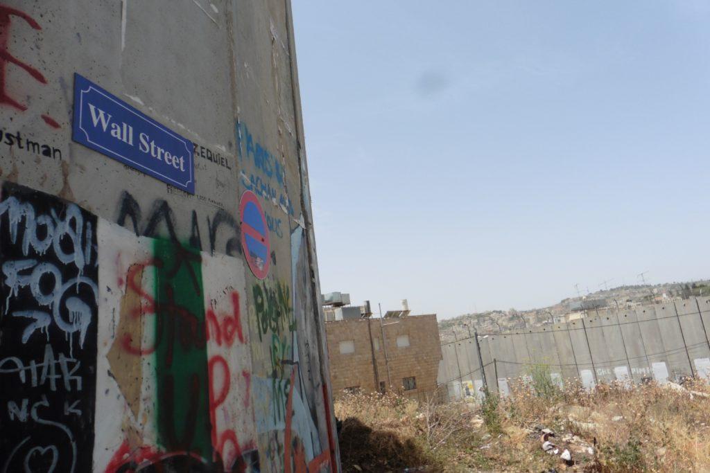 """die """"Wallstreet"""" in Bethlehem"""
