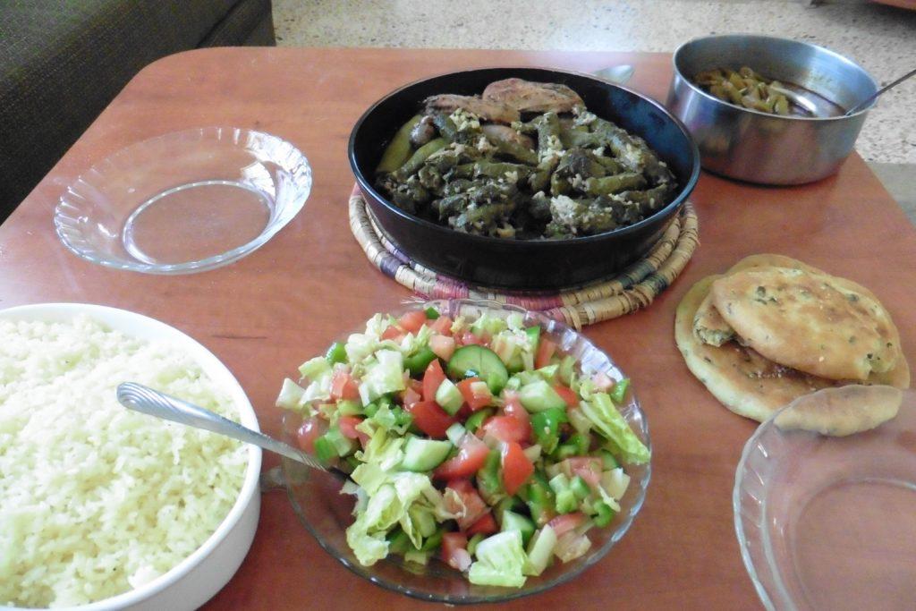 arabisches Mahl bei Fatima