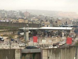 der größte Checkpoint: Qalandia