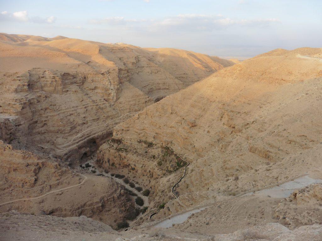 die Schlucht des Wadi Kelt