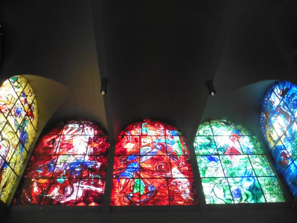 Chagalls-Fensterbilder in der